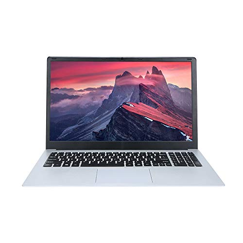 Docooler T-Bao Tbook R8S Laptop Notebook 15.6 Inch 6GB RAM 128GB Intel® Apollo N3450 Quad Core Windows 10 for Gaming Office(Silver)