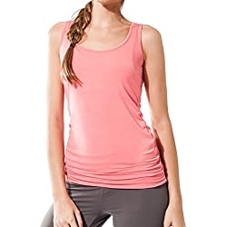 Camiseta Fitness para mujer, ideal para hacer pilates, yoga y cualquier deporte