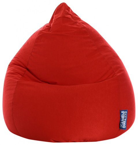 Sitting Point Sitzsack BeanBag EASY XL rot 70x110 cm 220l