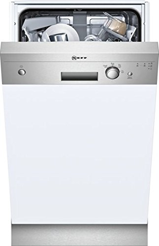Neff s481 C40s0e Slimline lave-vaisselle partie int egriert/A +/220 kWh/an/2380 L/AN/doseur Assistant/échangeur de chaleur/Inox
