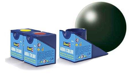 revell-dark-green-satin-colori-acrilici-18ml-vaso-di-aqua-modello-colore-della-vernice-per-la-modell
