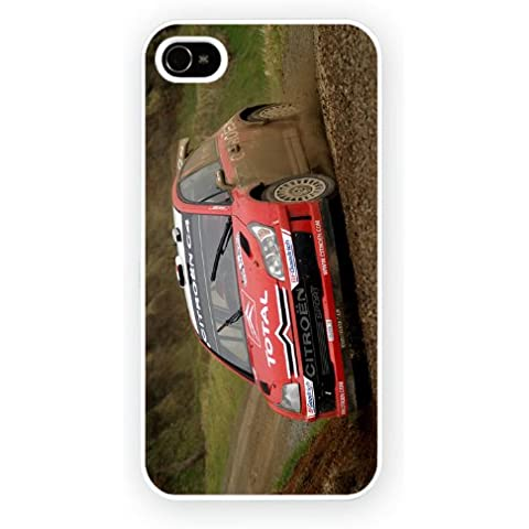 Citroen C4 WRC Mud, iPhone 5 / 5S cassa del telefono mobile lucido