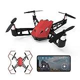 ThiEYE Dr.X Drone con Telecamera WIFI FPV Quadricottero 8MP 1080P Live Video per Principianti Kids Mobile APP Control, Droni Giocattolo Pieghevole, Altitude Hold Modalità selfie One Key Start RC Drone