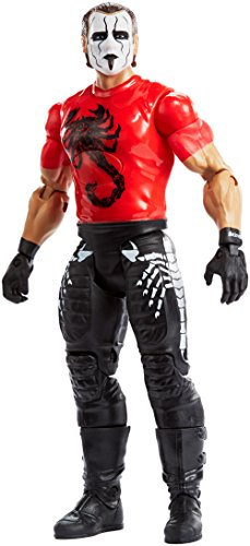 Mattel FMH85 WWE Tough Talkers Figur Sting, 15 cm