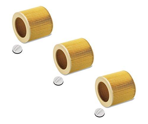 Patronenfilter Patronen für Nass-/ Trockensauger Nasssauger / Mehrzwecksauger / Waschsauger Kärcher A 2204 2254 2101 2201 WD2 WD3 MV2 MV3 WD2.200 WD3.500 P WD 3.200, WD 3.300 M, wie 6.414-552.0