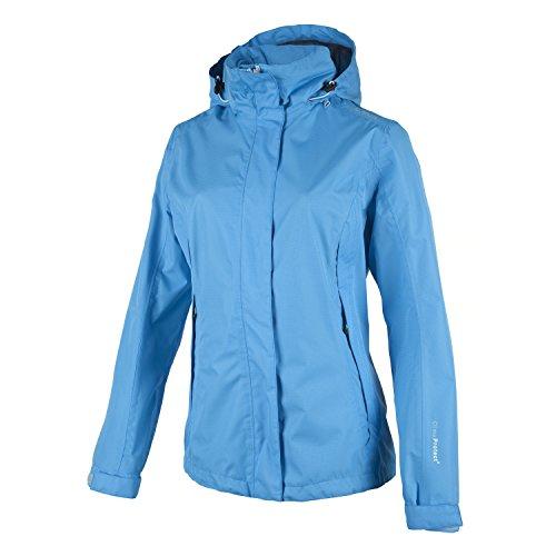 CMP Damen Jacke Zip Hood Z58566 Blau (Acquario L596)