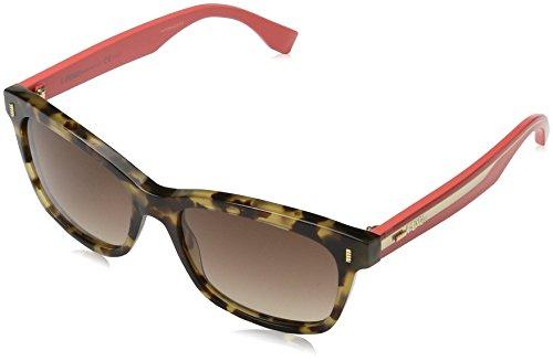 Fendi Damen Sonnenbrille Ff 0086, Schwarz (Hvnhny Chrry), 53 Preisvergleich