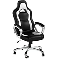 Cherry Tree Furniture Designed Racing Sport Swivel Office chair Computer Desk Chair