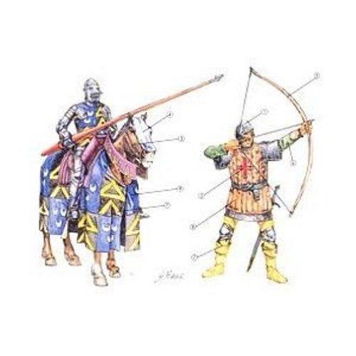 Italeri 6027 - 100 years war-british warriors scala 1:72
