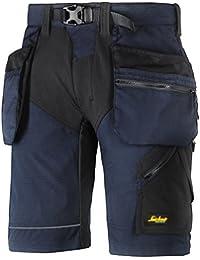 """Snickers 69049504046trabajo pantalones cortos """"flexiwork tamaño 46en–azul marino/negro"""