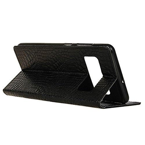 EKINHUI Case Cover Belle, durable, sympa, design élégant, le téléphone pour éviter les chutes accidentelles. Conception de machines à sous, vous pouvez placer vos cartes de crédit, cartes de visite, a Black