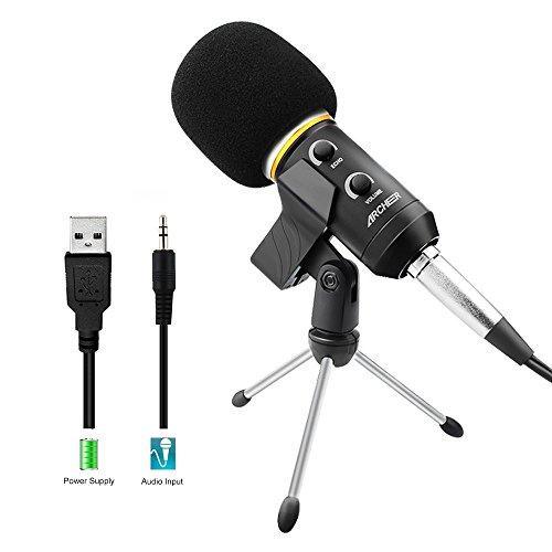 Microphone Usb Micro Condenseur Portable...