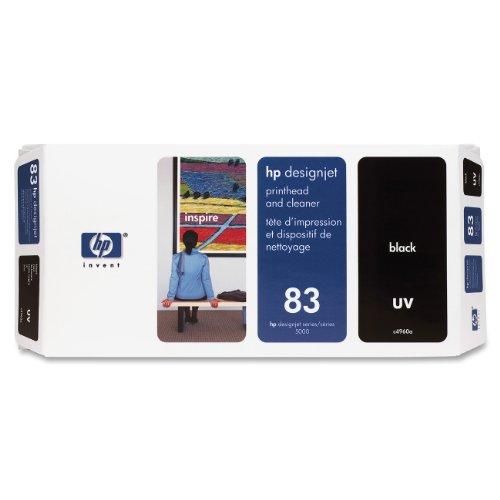 HP 83 Tête d'impression d'origine avec nettoyeur 1 x noir