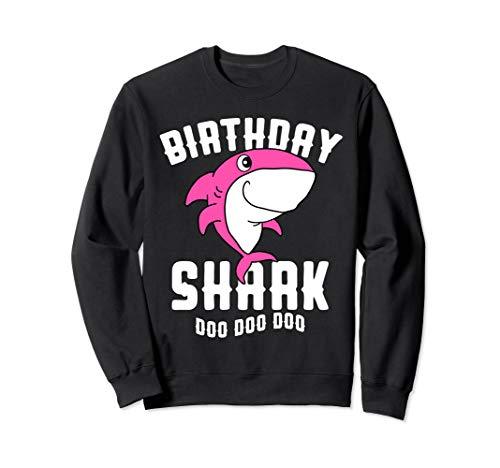 Nerd Niedlich Kostüm Mädchen - Geburtstag Hai für Mädchen Frauen Mama Halloween Weihnachten Sweatshirt