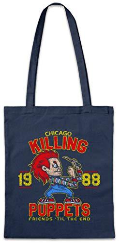 Urban Backwoods Killing Puppets Hipster Bag Beutel Stofftasche Einkaufstasche
