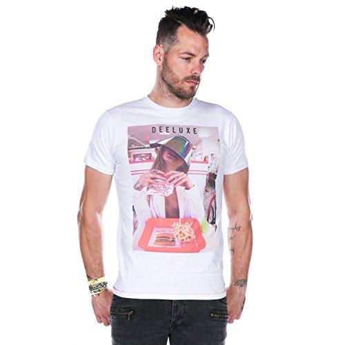 DEELUXE 74 Herren T-Shirt Weiß
