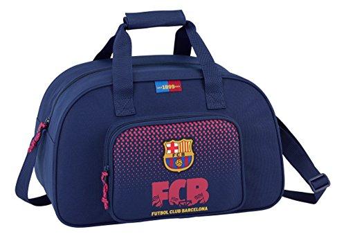 FC Barcelona 2018 Bolsa de Deporte Infantil, 40 cm, 22 litros, Blau y grana