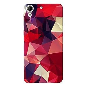 Mobile Back Cover For HTC Desire 728 (Printed Designer Case)