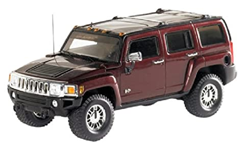 LUXURY 1/43 Hummer H3 2006 Red metallic