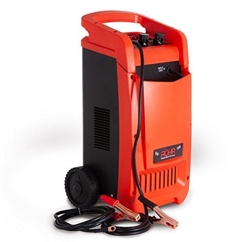 Röhr dfc-450p Intelligent Heavy Duty Portable 1200W 12V/24V Turbo/trickle carica batterie, Mantenitore e starter 40a/50A/70A max