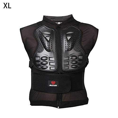 Katurn cavalletto Protettiva Gilet, Motocross MTB Racing Sport Senza Maniche Maglia Armatura, Adulti Dirt Bike Body Petto Spine Guard Protecto