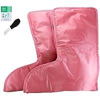 Elektrische Fußwärmer und Vibrationsmassage Stiefel wasserdicht (3 Stufen), rosa preisvergleich bei billige-tabletten.eu