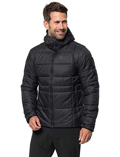 Jack Wolfskin Herren Argon THERMIC Jacket M Wetterschutzjacke, Black, XXL