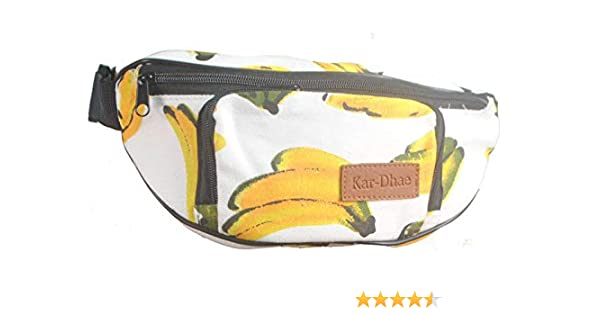 Travel Waist Pack,travel Pocket With Adjustable Belt Fresh Fruit Tropical Running Lumbar Pack For Travel Outdoor Sports Walking