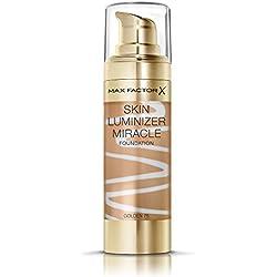 Max Factor Skin Luminizer Base de Maquillaje Líquida Tono 75 Golden - 62 gr