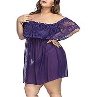 Preisvergleich für Damen Sexy Body Dessous Strapsen Reizvolle Reizwäsche Lingerie Babydoll Nachthemd Rückenfrei Spitze Bodysuit Negligee...