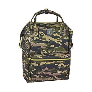 Moos «Camouflage» Oficial Mochila Juvenil Con Asas Para Portátil Hasta 13″, 270x190x400 mm