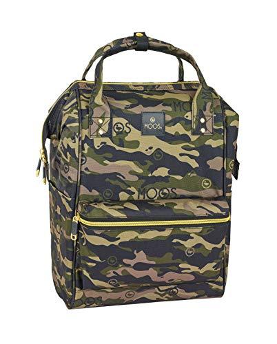 Moos 'Camouflage' Oficial Mochila Juvenil Con Asas Para Portátil Hasta 13', 270x190x400 mm