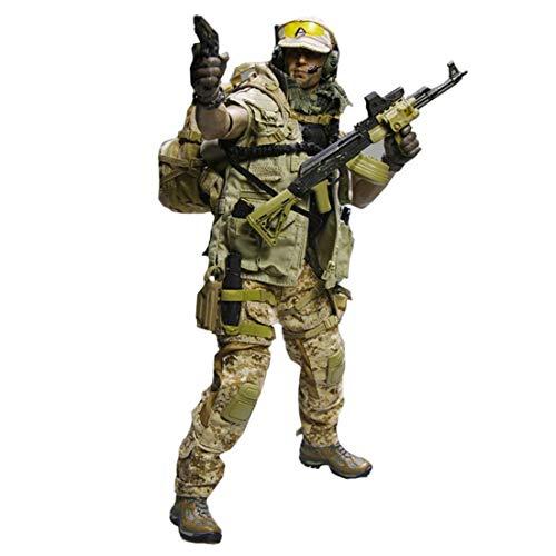 Zubehör Militär Kostüm - Batop PMC Söldner Kostüm Figuren Zubehör für 1/6 Soldat Actionfigur Modell Spielzeug Figuren Militär Soldat Modell (Körper und Kopf Nicht enthalten)