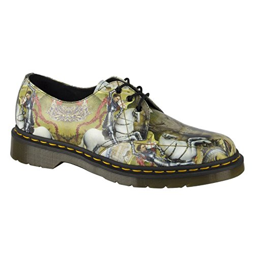 Dr. Martens 1461 Nero FL Cascade Split Black 3 fori scarpe invernali 21,765,001 Multicolore