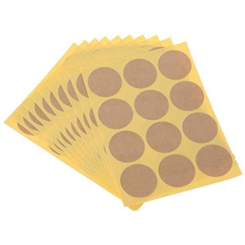 Enyu 120pcs Vírgenes redondas embalaje embalaje scellant