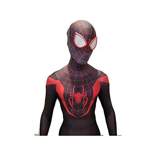 y Costume Spider-Man Bodysuit Black (Extra groß) ()