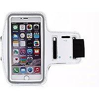 kangvo Sport Corsa Palestra fascia da braccio con portachiavi per iPhone 6, 6S (4,7pollici), Galaxy S3/S4, iPhone 5/5C/5S