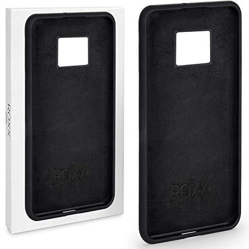 Roxx Hard Case Silikon Hülle | Kompatibel mit Huawei Mate 20 Pro | Testsieger Hard Silikon