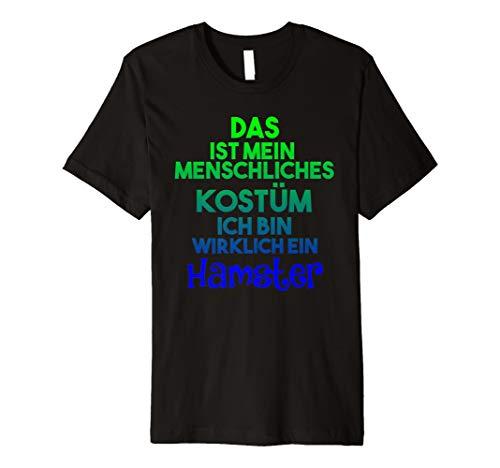 Halloween Hamster Hemd Lustiges Menschlichen Kostüm T-Shirt