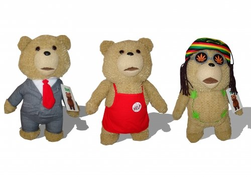Character Talking Ted ours assortis doux jouets 45,7cm (Livré tout 1) (Marke Tous)
