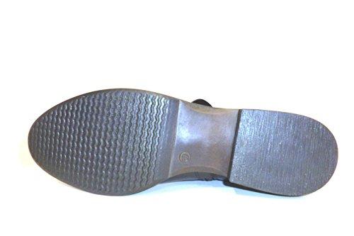Cafènoir Stivale sopra il ginocchio in vitello NFA139 Nero