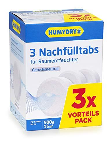 HUMYDRY - Recambios antihumedad Tab 3x500g Neutro