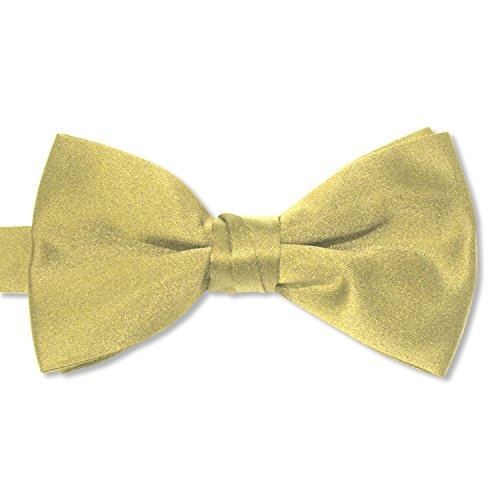 Tuxedo Park Fliege aus Satin - Gold - Herren Gold Satin Cummerbund