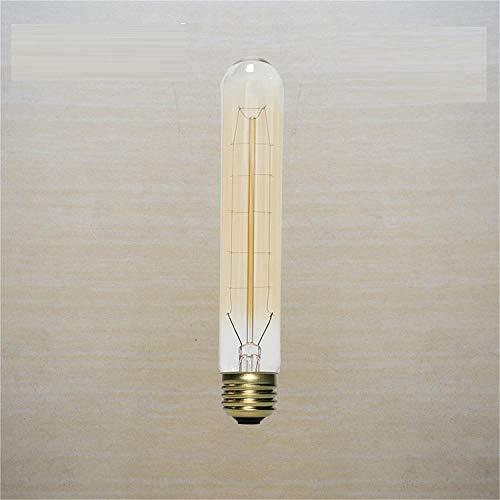 Vintage Led-Glühlampe T30 Edison Wolframröhre 40W 220Ve27 Lampenfassung