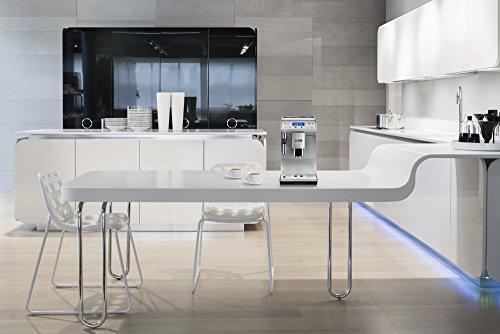 41pjxQhCu5L - De'Longhi Autentica Cappuccino, Fully Automatic Bean to Cup Coffee Machine, Espresso Maker, ETAM29.660.SB, Silver and…