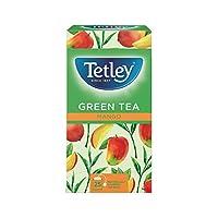 Tetley Green Tea with Mango - Pack of 25