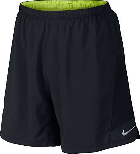 NIKE Herren 2-in-1 Shorts 7 Zoll Pursuit Schwarz