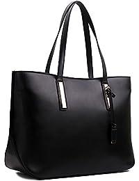 Damen Handtasche Shopper Damentasche Tragetasche Schultertasche XXL Groß