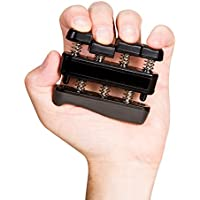 Exerciseur de main réglable Main Grip Renforceur Avant-bras et Finger Force Exercice Équipement Renforts de doigt de guitare et poignées d'escalade Workout Ergothérapie et physiothérapie, Pensée et Stress