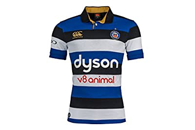 Canterbury Bath Official 17/18 Men's Short Sleeve Home Classic Jersey by Canterbury